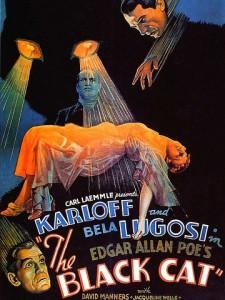 The black cat, film américain du réalisateur Edgar G. Ulmer, 1934