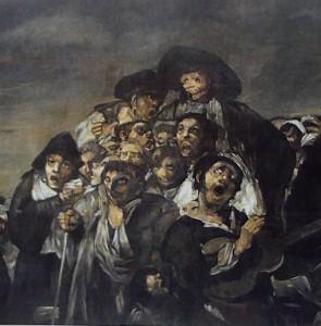 Francisco Goya, Le Pélerinage de san Isidro (détail), 1823