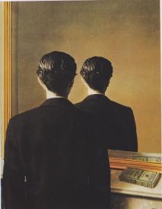 René Magritte, La reproduction interdite, 1937