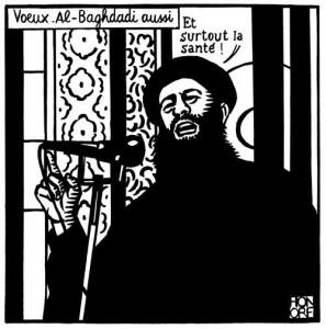 Le dernier dessin twitté par Honoré, deux minutes avant le massacre