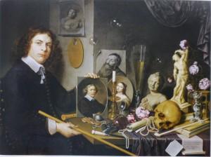 David Bailly, Autoportrait avec les symboles de la vanité, 1651