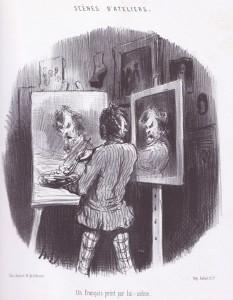 Daumier, Un Français peint par lui-même