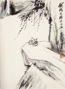 Qi Baishi, Au bord du vide